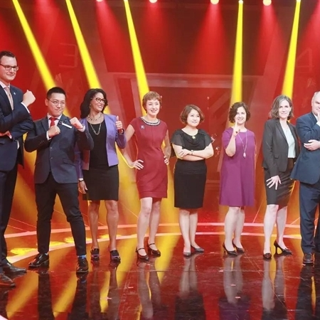 CATS Education specialist judges the largest televised English talent competition in China